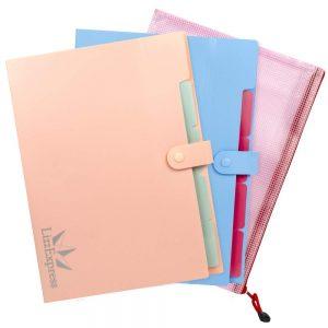 File folder paper organizer